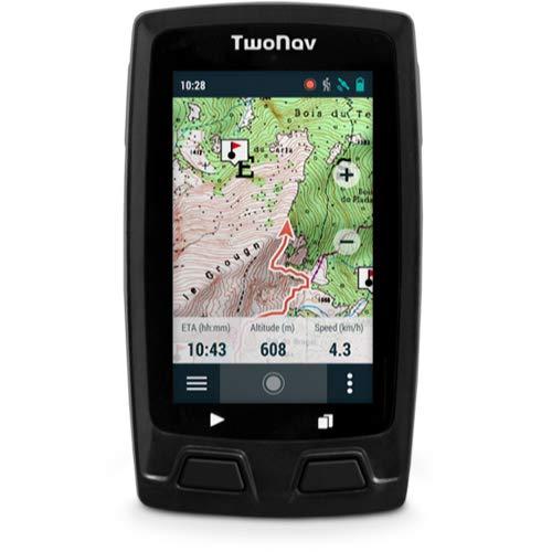 TwoNav - Horizon GPS para Montaña o Senderismo con Pantalla de 3', Compacto y Resistente, Color Gris