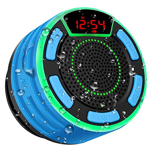 Altavoz Bluetooth, moosen IPX7...